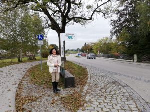 Freie Wähler Windach -Mitfahrerbank