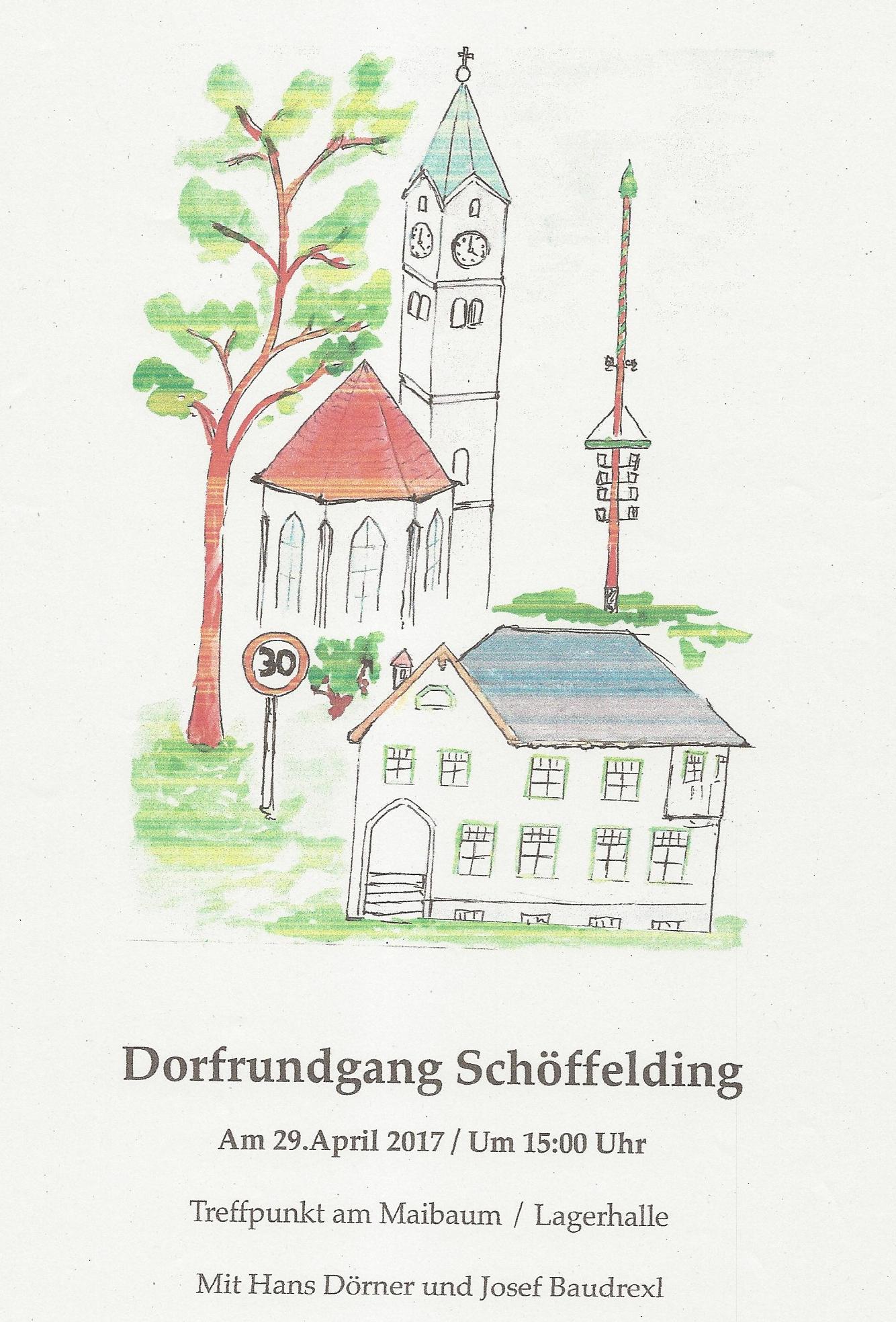 Dorfrundgang Schöffelding